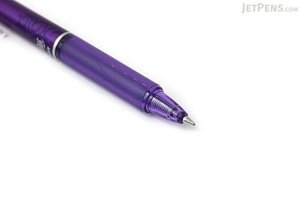Pilot FriXion Ball Clicker US Gel Pen - 0.7 mm - Purple - PILOT FXC--PPLFBC