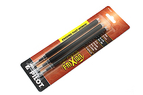 Pilot FriXion US Gel Pen Refill - 0.7 mm - Black - Pack of 3 - PILOT 77330