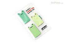 Jstory Smile Tab Stickers - Frog - JSTORY SMILE FROG