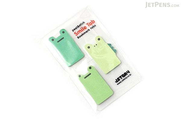 Jstory Smile Tab Stickers - Frog - JSTORY SMILE FROG