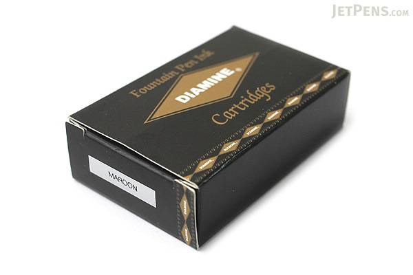 Diamine Maroon Ink - 18 Cartridges - DIAMINE INK 8008