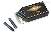 Diamine Fountain Pen Ink Cartridge - Emerald - Pack of 18 - DIAMINE INK 8004