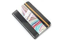 "Rhodia Rhodiarama Webnotebook - 3.5"" x 5.5"" - Lined - Black - RHODIA 118642"