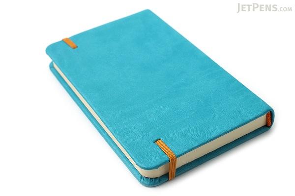 "Rhodia Rhodiarama Webnotebook - 3.5"" x 5.5"" - Lined - Chocolate - RHODIA 118643"