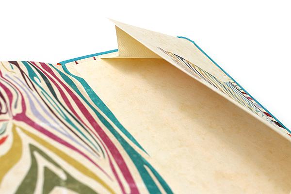 "Rhodia Rhodiarama Webnotebook - 3.5"" x 5.5"" - Lined - Taupe - RHODIA 118644"