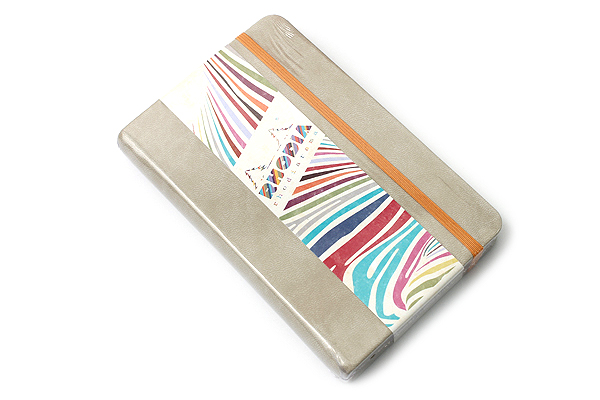 "Rhodia Rhodiarama Webnotebook - 3.5"" x 5.5"" - Lined - Beige - RHODIA 118645"
