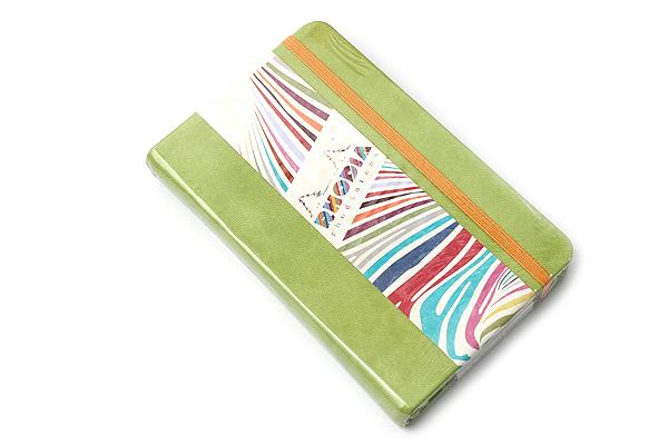 "Rhodia Rhodiarama Webnotebook - 3.5"" x 5.5"" - Lined - Anise - RHODIA 118646"