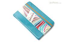 "Rhodia Rhodiarama Webnotebook - 3.5"" x 5.5"" - Lined - Turquoise - RHODIA 118647"