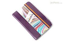 "Rhodia Rhodiarama Webnotebook - 3.5"" x 5.5"" - Lined - Purple - RHODIA 118650"