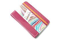 "Rhodia Rhodiarama Webnotebook - 3.5"" x 5.5"" - Lined - Raspberry - RHODIA 118652"