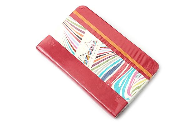 """Rhodia Rhodiarama Webnotebook - 3.5"""" x 5.5"""" - Lined - Poppy - RHODIA 118653"""