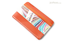 "Rhodia Rhodiarama Webnotebook - 3.5"" x 5.5"" - Lined - Tangerine - RHODIA 118654"