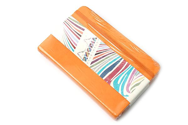 "Rhodia Rhodiarama Webnotebook - 3.5"" x 5.5"" - Lined - Orange - RHODIA 118655"