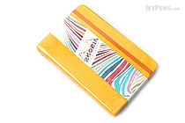 "Rhodia Rhodiarama Webnotebook - 3.5"" x 5.5"" - Lined - Yellow - RHODIA 118656"