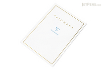 Clairefontaine Triomphe Notepad - A4 - Blank - 50 Sheets - CLAIREFONTAINE 6170