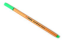 Stabilo Point 88 Fineliner Marker Pen - 0.4 mm - Neon Green - STABILO SW88-033