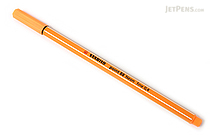 Stabilo Point 88 Fineliner Marker Pen - 0.4 mm - Neon Orange - STABILO 88-054