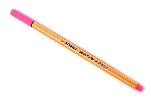 Stabilo Point 88 Fineliner Marker Pen - 0.4 mm - Neon Pink - STABILO SW88-056
