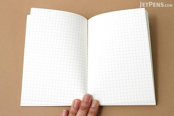 Apica Premium C.D. Notebook - A6 - 5 mm Graph - APICA CDS70S