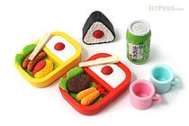 Iwako Picnic Novelty Eraser - 8 Piece Set - IWAKO ER-BRI027