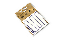 Kuretake Echizen Washi Adhesive Memo Notes - Accordion - KURETAKE LH25-102