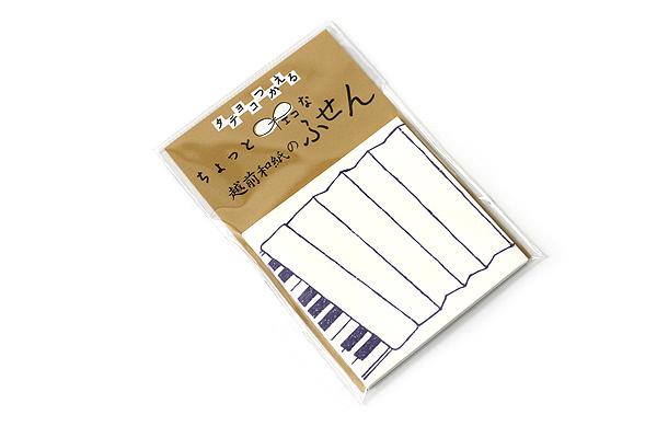 Kuretake Echizen Washi Adhesive Memo Notes - Accordion - KURETAKE LH25-102
