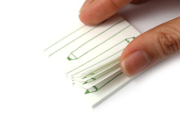 Kuretake Echizen Washi Adhesive Memo Notes - My Pencil - KURETAKE LH25-104