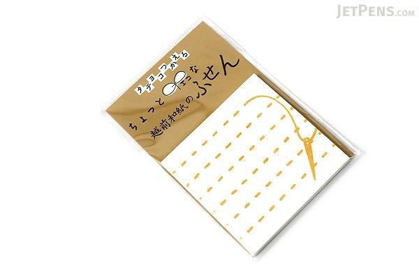 Kuretake Echizen Washi Adhesive Memo Notes - Sewing - KURETAKE LH25-106
