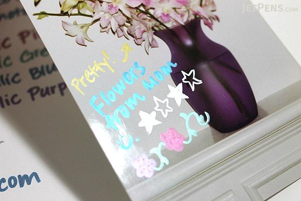 Sakura Deco Cute Metallic Photo Marker - 6 Color Set - SAKURA ZHK-S6M