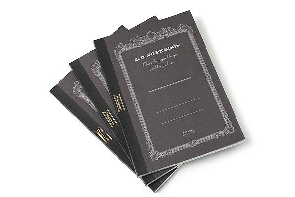 Apica Premium C.D. Notebook - B5 - Plain - 96 Sheets - Bundle of 3 - APICA CDS120W BUNDLE
