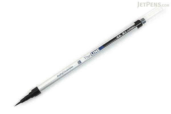 Akashiya Sai ThinLine Brush Pen - Extra Fine - 5 Color Set - AKASHIYA TL300-5VA
