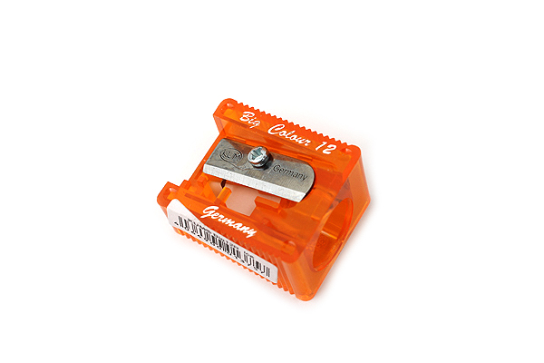 Kum Big 12R Ice Pencil Sharpener - 12 mm - Orange - KUM 303.60.21 O