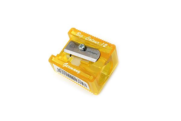 Kum Big 12R Ice Pencil Sharpener - 12 mm - Yellow - KUM 303.60.21 Y