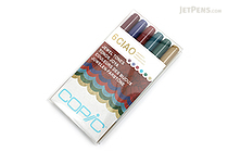 Copic Ciao Marker - 6 Color Set - Jewel Tones - COPIC I6JEWEL