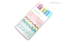 Copic Ciao Marker - 6 Color Set - Pastels - COPIC I6PASTELS