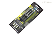 Uni-ball Jetstream RT BLX Ballpoint Pen - 1.0 mm - 3 Color Set - UNI-BALL 1858850