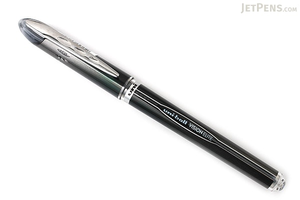 Uni-ball Vision Elite Rollerball Pen - 0.5 mm - Black - UNI-BALL 69175