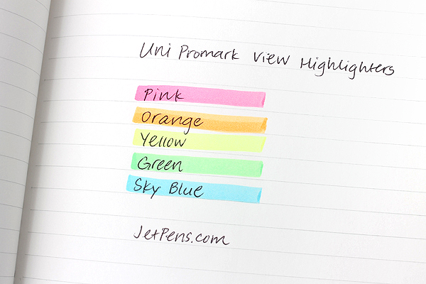 Uni Promark View Highlighter - Pink - UNI PUS154.13