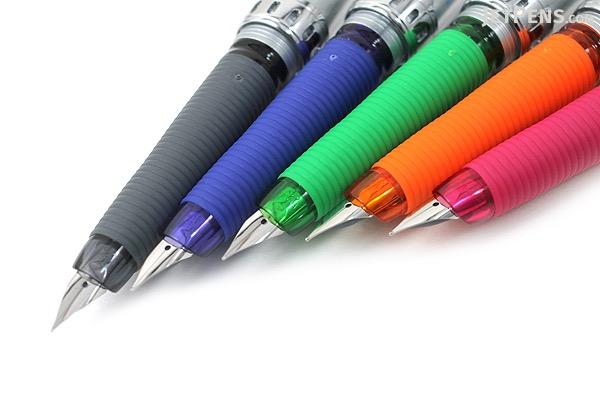 Pilot Vortex Fountain Pen - Fine Nib - Clear Black - PILOT FVS-150R-TBF