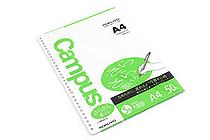 Kokuyo Campus Loose Leaf Paper - Sarasara - A4 - 5 mm Graph - 30 Holes - 50 Sheets - KOKUYO NO-829S-5