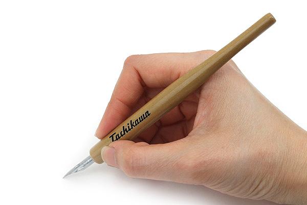 Tachikawa Comic Pen Nib Holder - Model 20 - Woodgrain - TACHIKAWA T-20WD