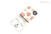 Midori 3D Writing Marker Adhesive Notes - Yellow Flower - MIDORI 11778-006