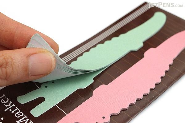 Midori Writing Marker Adhesive Notes - Long - Crocodile - MIDORI 11744-006