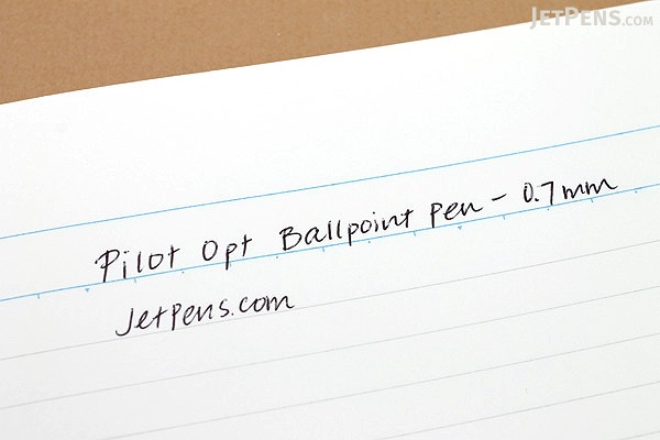 Pilot Opt Ballpoint Pen - 0.7 mm - Stardust (Blue) Body - PILOT BOP-20F-SD
