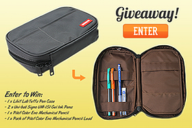 Pen Case Prize Pack Giveaway