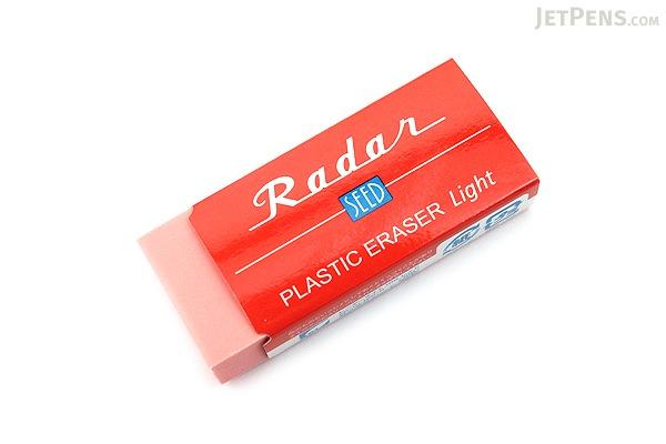 Seed Colorful Radar Light 100 Eraser - Red - SEED EP-KL100-R