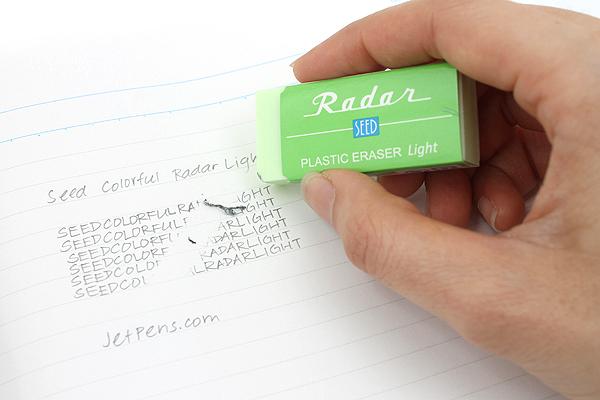 Seed Colorful Radar Light 100 Eraser - Green - SEED EP-KL100-G