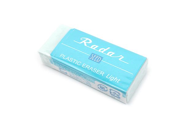 Seed Colorful Radar Light 100 Eraser - Blue - SEED EP-KL100-B