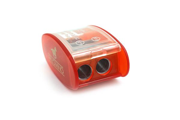 Palomino KUM Automatic Brake Long Point 2 Step Pencil Sharpener - Orange - PALOMINO 102549
