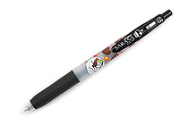Zebra Limited Edition Sarasa Clip Sweets Party Scented Gel Ink Pen - 0.5 mm - Chocolate Brownie - Black - ZEBRA JJ29-S-BK